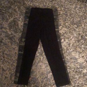 Victoria Sport cropped leggings camouflage/black